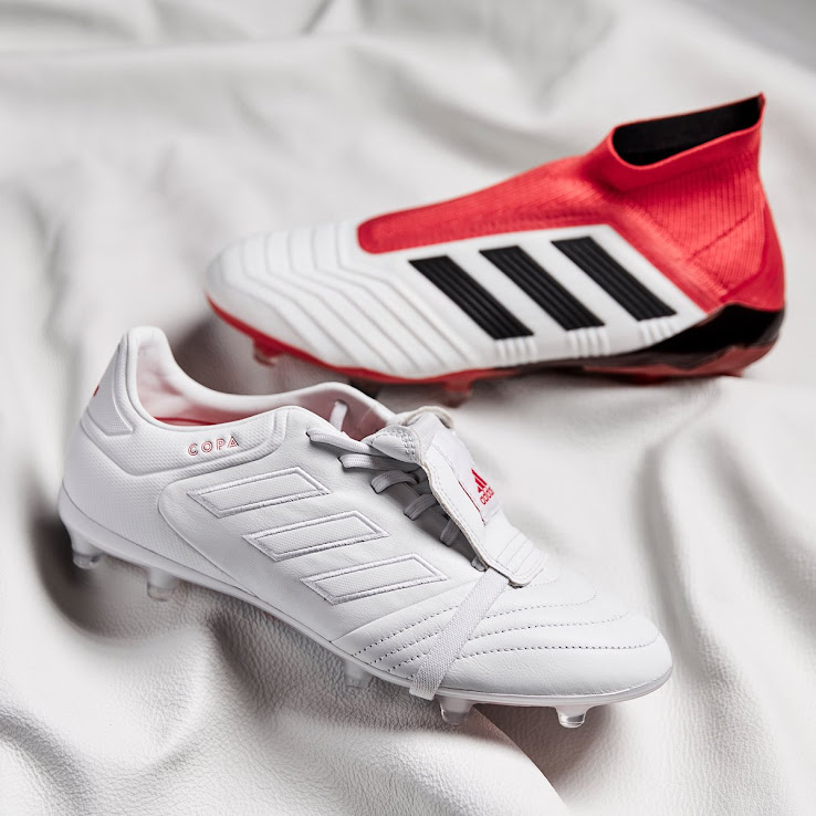 73fa97acdff7 Classy White / Red Adidas Copa Gloro 2018 Cold Blooded Boots ...