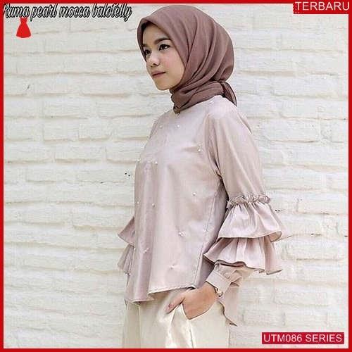 UTM086R79 Baju Ruma Muslim Pearl UTM086R79 056   Terbaru BMGShop
