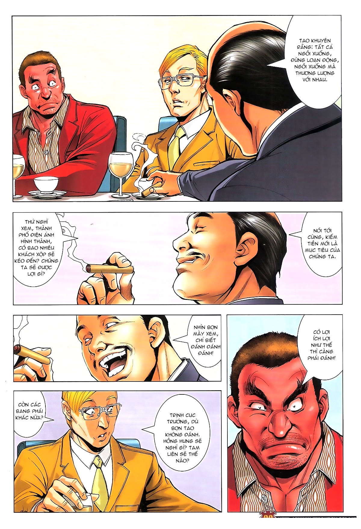 Người Trong Giang Hồ chapter 1815: tiêu diệt tam liên trang 7