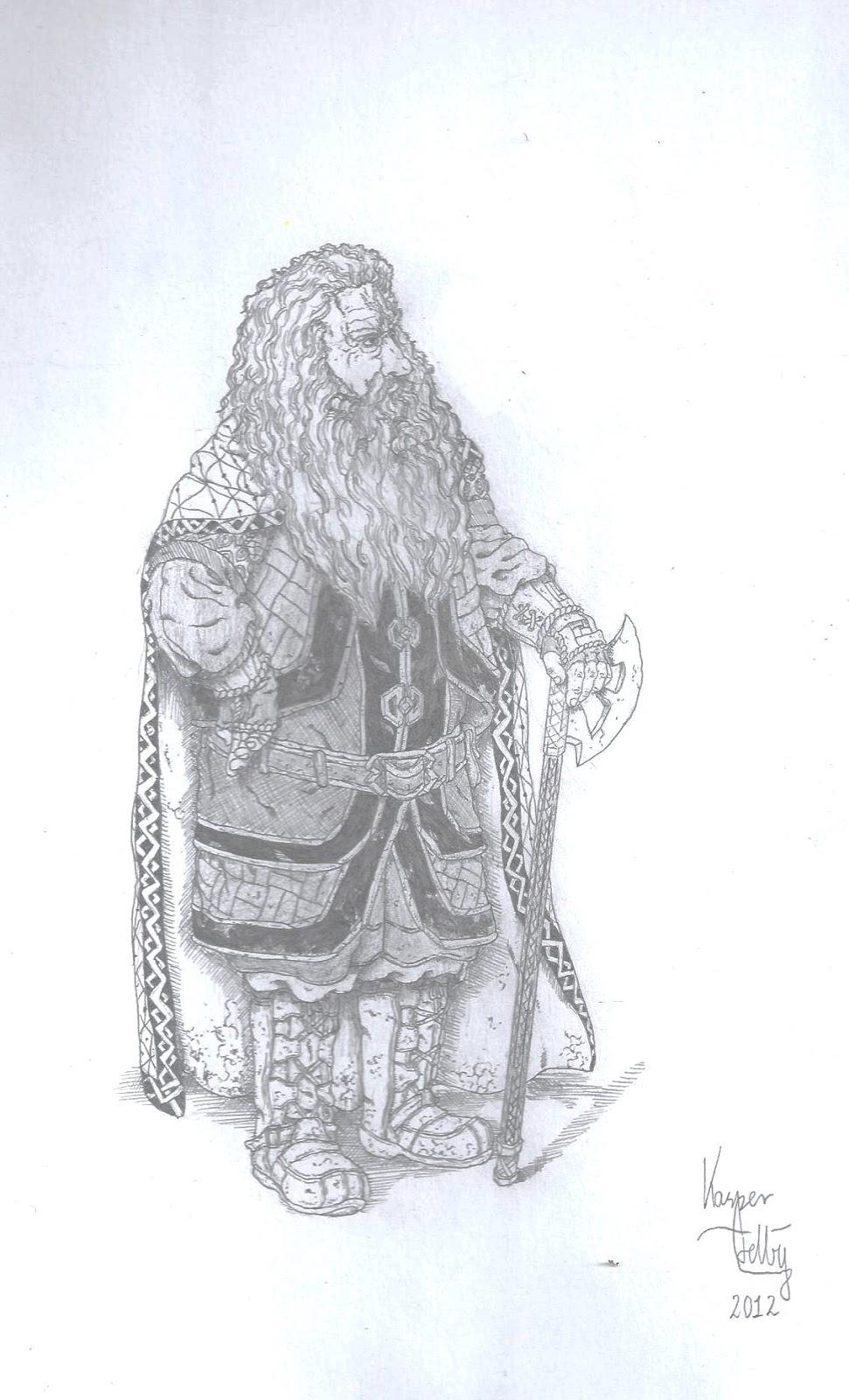 Jelly Arts Gloin The Hobbit Fan Art I
