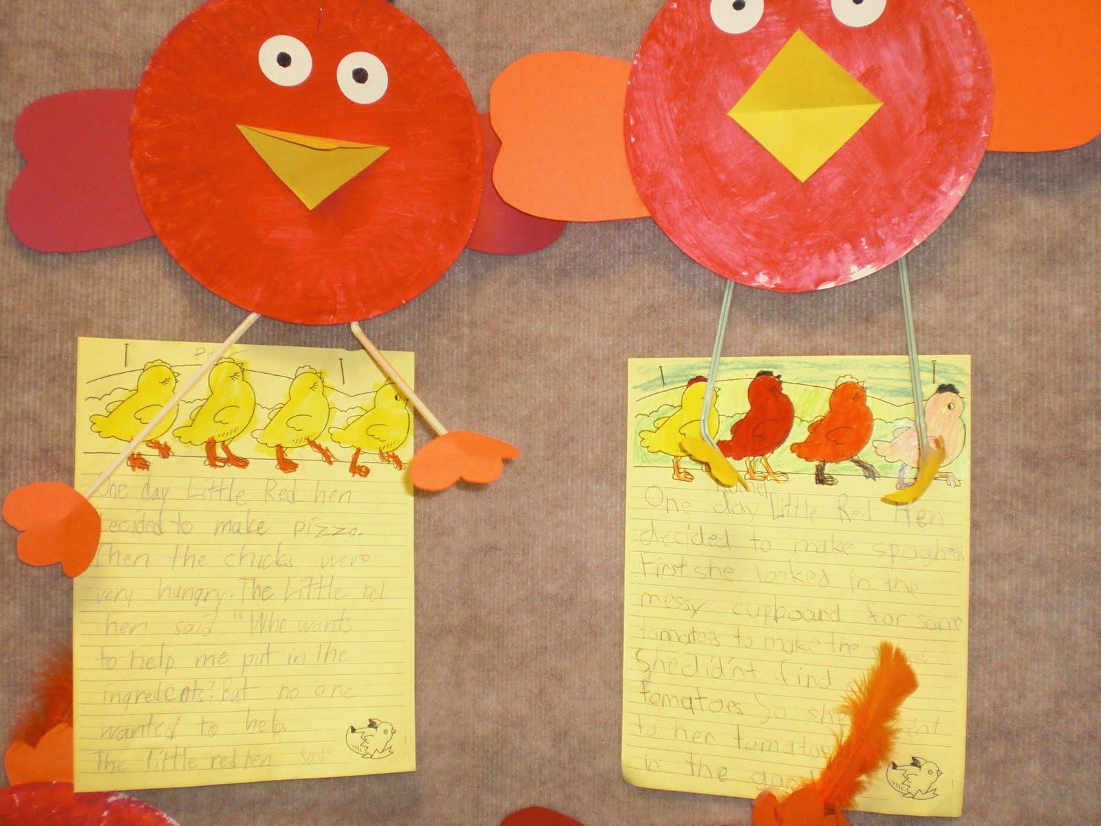 Patties Classroom The Little Red Hen