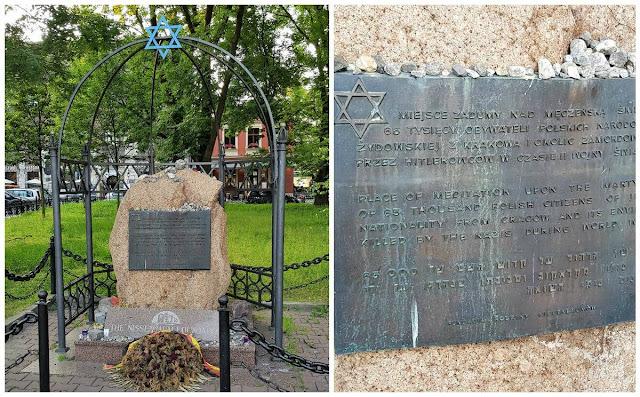 MONUMENTO AL MARTIRIO en kazimierz