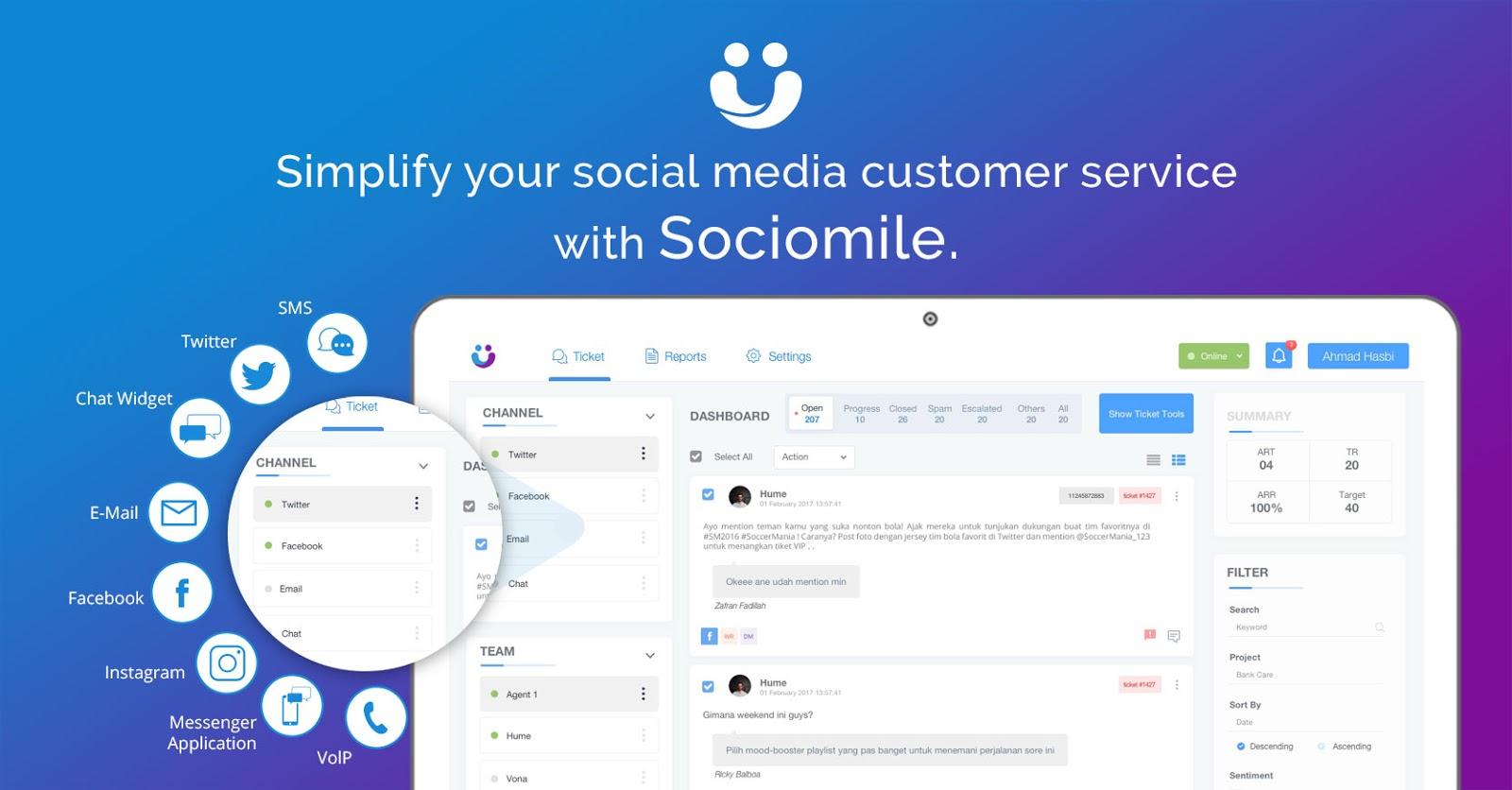 Social Customer Care Platform di Era Digital