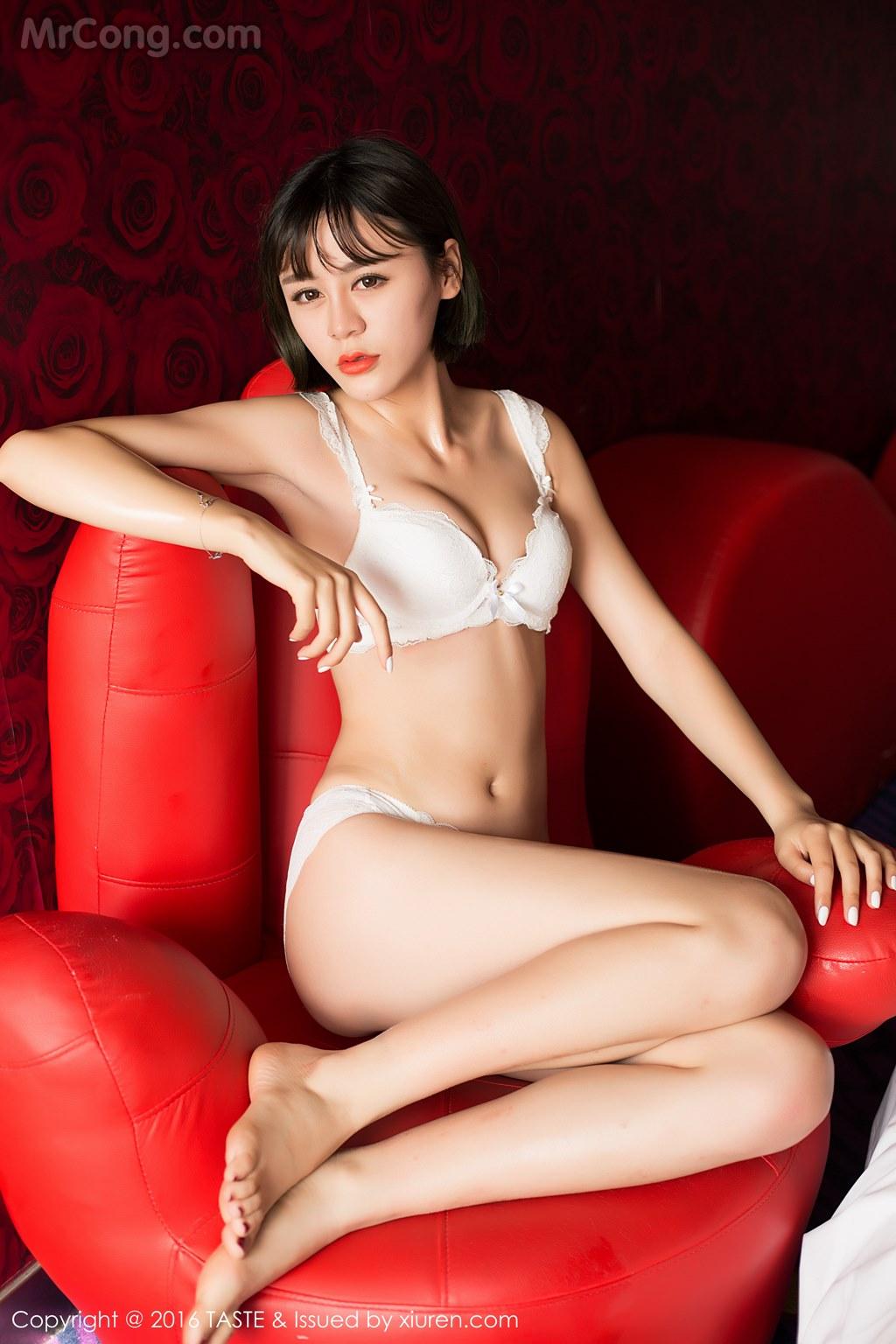 Image MrCong.com-TASTE-Vol.014-Wang-Meng-Meng-001 in post TASTE Vol.014: Người mẫu Wang Meng Meng (汪萌萌) (45 ảnh)