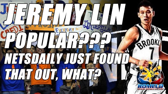 Jeremy Lin, Popular??? ★ What? NetsDaily Just Found That Out?