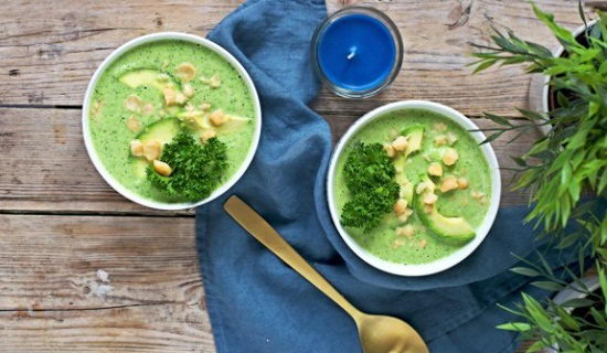 Súp bông cải xanh