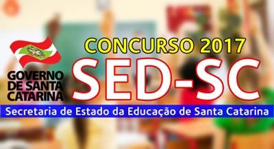 Concurso SED-SC 2017