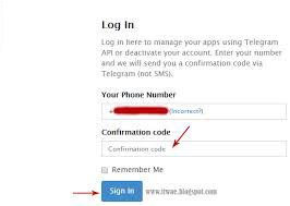 Cara Menghapus/Delete Akun Telegram 5