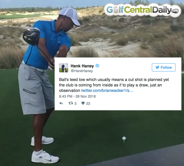 Hany Haney Analyses Video Of Tiger Woods Swing And Immediately ...