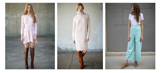 Розовые платья и мятные брюки