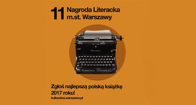 Nagroda Literacka m.st. Warszawy - 11. edycja