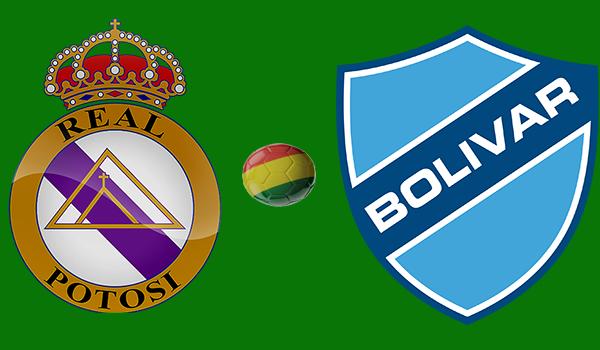 En vivo Real Potosí vs. Bolívar - Torneo Apertura 2018
