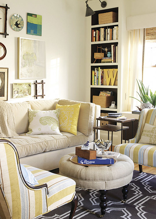 Small Space Solutions Living Room: New Home Interior Design: Small Space Solutions