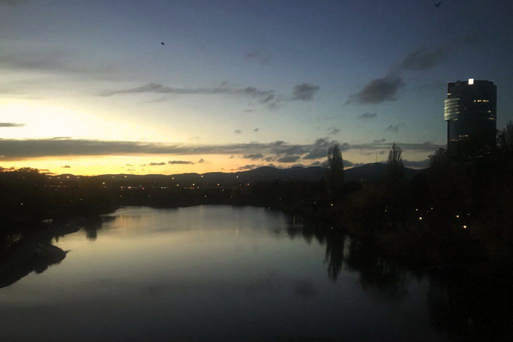 vienna sunset