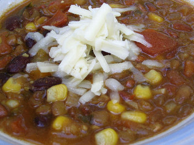 Southwest Vegetarian Chili