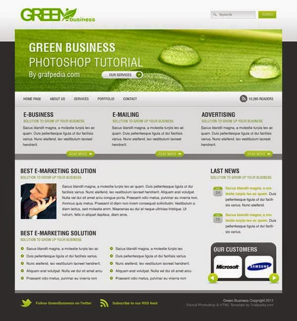 How To Create The Green Business Layout