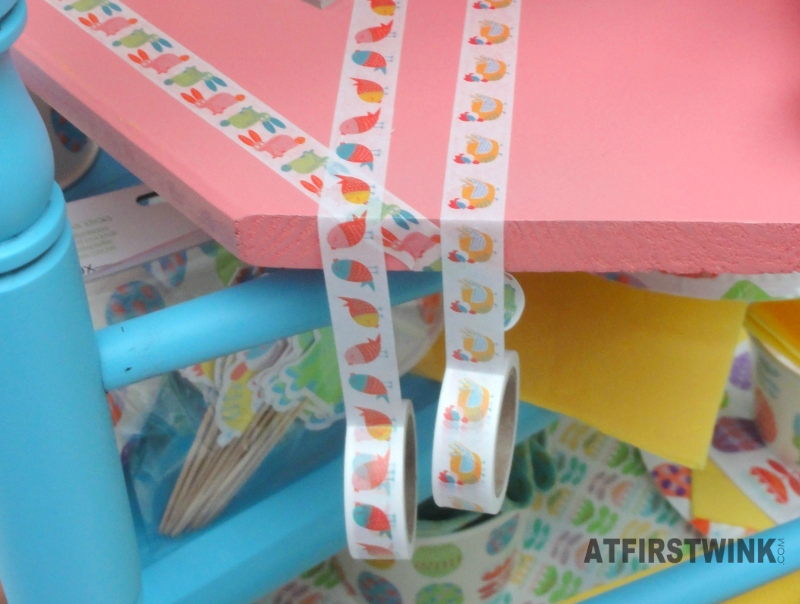 HEMA Easter washi tapes birds chicken bunny