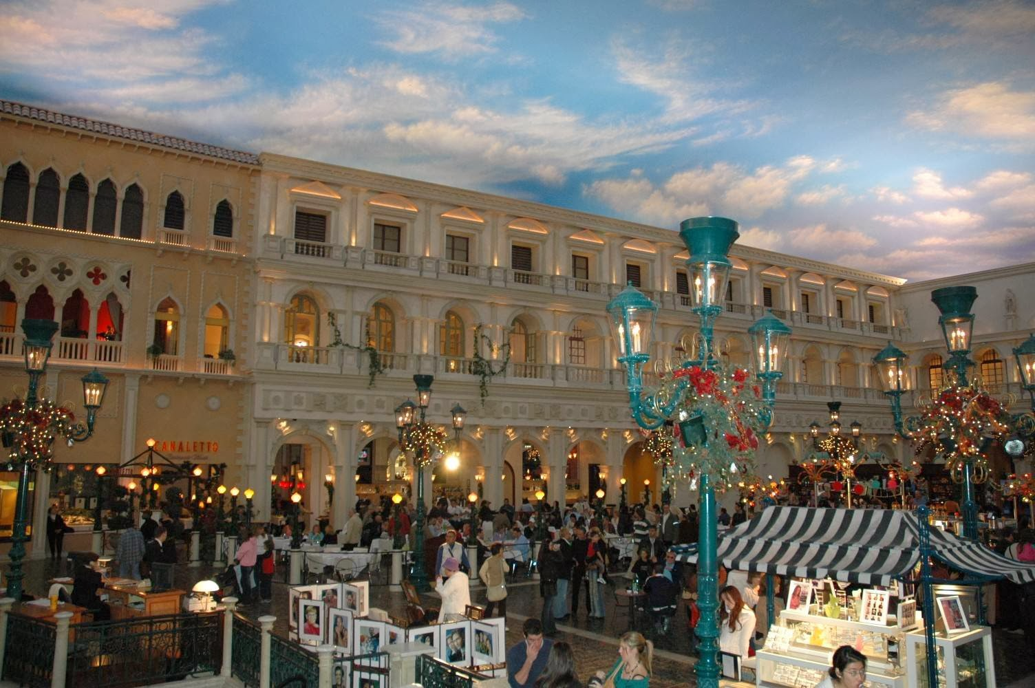 The Grand Canal Shoppes At Venetian em Las Vegas