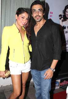 Cricket & Bollywood Celebs at 'Popstar' Anusha Dandekar's party