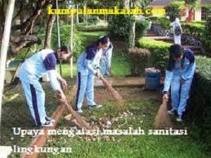 Upaya Menangani Masalah Sanitasi Lingkungan