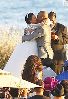 The Wedding Between Popular RB Singer And Song Writer Ne Yo His Pregnant Fiance Crystal Renay Happend At Terranea Resort Overlooking Pacific