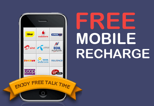 Free Mobile Recharge For Android Phones User