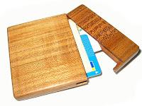 山桜木製財布
