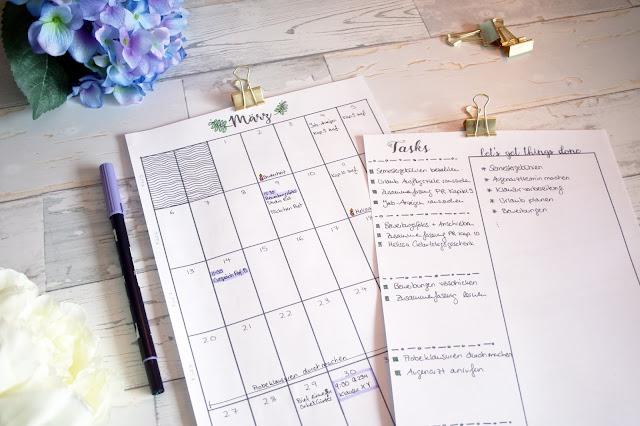 kalendereinlagen