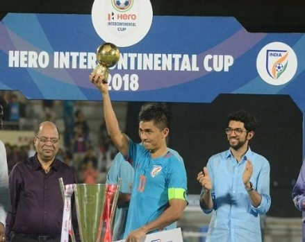 India won the title Intercontinental Cup Championship