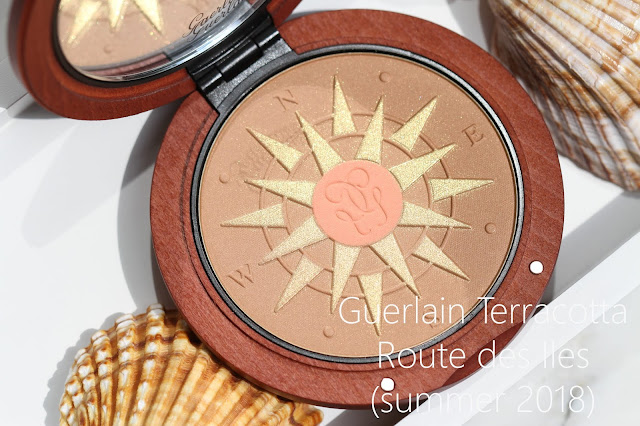 Бронзер Guerlain Terracotta ROUTE DES  ÎLES + макияж