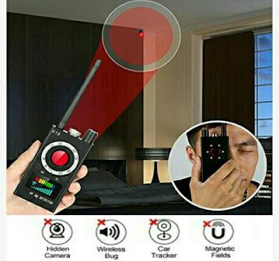 Urxtral Anti-Spy Detector - RF Hidden Cam Finder