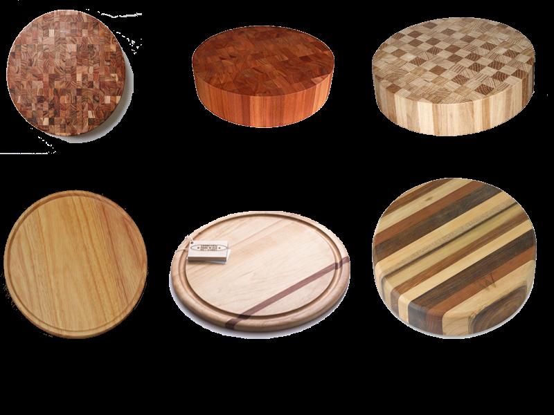 Thớt gỗ tròn