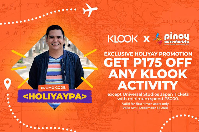 KLOOK PROMO CODES DECEMBER 2018