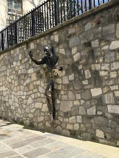 le passe muraille, monmatrtre - easter trip to paris - part 2 wanderlust