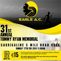 5 mile in Carrigaline... Sun 17th Feb 2019