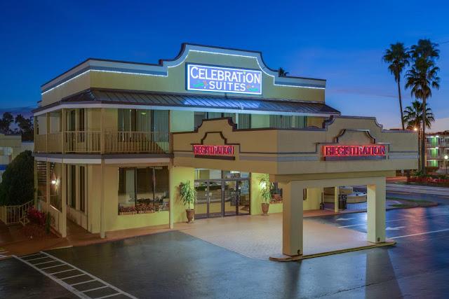 Entrada Hotel Celebration Suites de Orlando