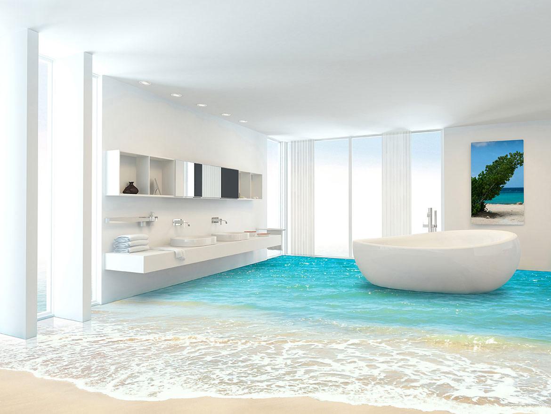 New 3d Bathroom Floor Types And Installation