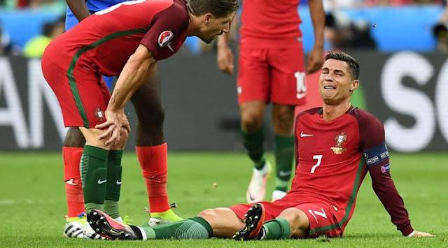 Berita Bola: Dimitri Payet Tak Sengaja Ciderai Ronaldo