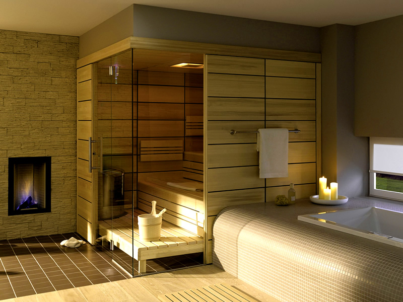 This Home Private Steam Sauna Room Design Ideas, Read Article