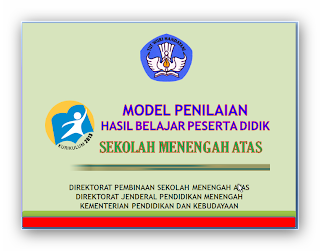 Model Penilaian Raport kurikulum 2013