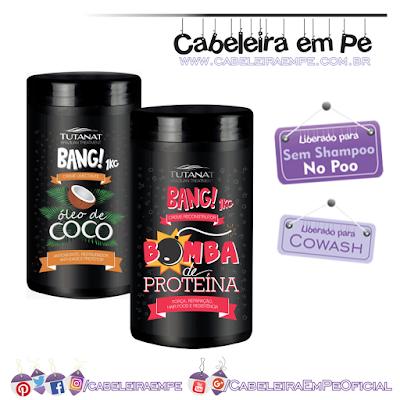 Coposição Cremes de Tratamento Bang (Coco e Bomba de Proteína) - Tutanat