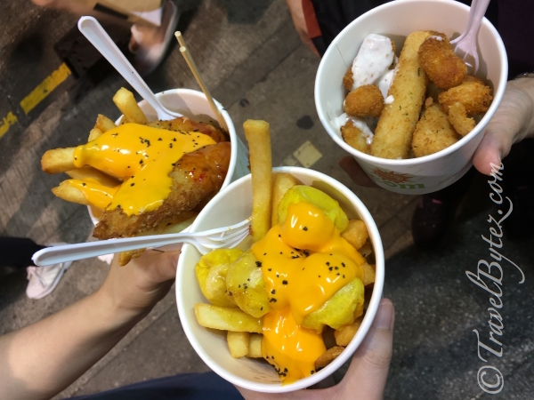 Street Food in Mongkok (Hongkong)