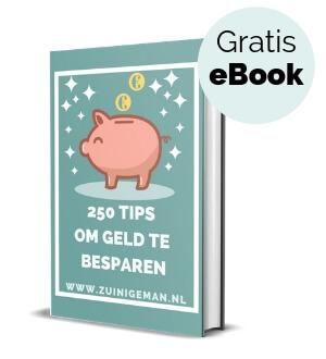 gratis eBook tips om geld te besparen