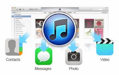 استعادة البيانات من iTunes ملفات النسخ الاحتياطي