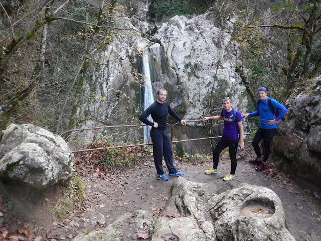 Агурское ущелье второй водопад