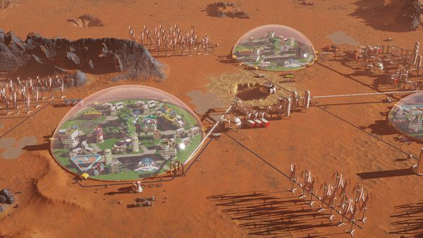 Surviving Mars Curiosity