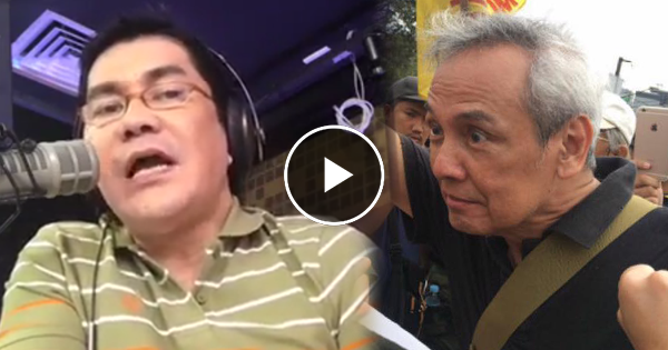 Jim Paredes Reacts On His Viral Video: Erwin Tulfo Dares Paredes To A Fist Fight After The Artist