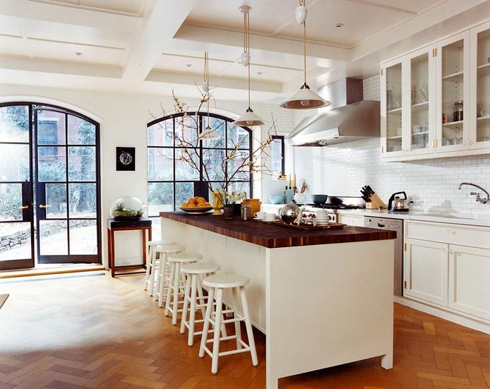 Kitchen Inspiration Month: Day Two   Butcher Block Counters