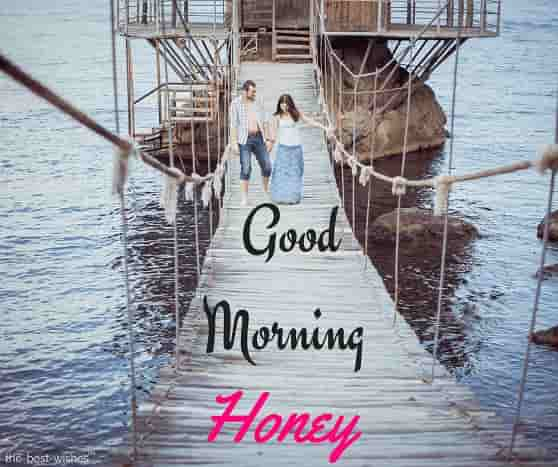 good morning honey romantic images