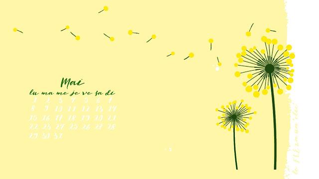 fond d'écran, calendrier, mai 2017, FLE, le FLE en un 'clic'